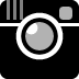 Instagram logo black